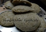 Kambu / Bajra / Pearl Millet Idly