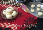 Malai Peda With Condensed Milk