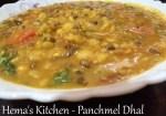 Panchmel Dhal - A Rajasthani Dish