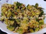 Bitter Gourd Curry / Pavakkai Porial
