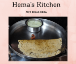 Five Dhals Adai – A Healthy Start For Your Day