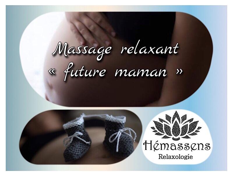 Massage future maman Hémassens Relaxologie Fameck