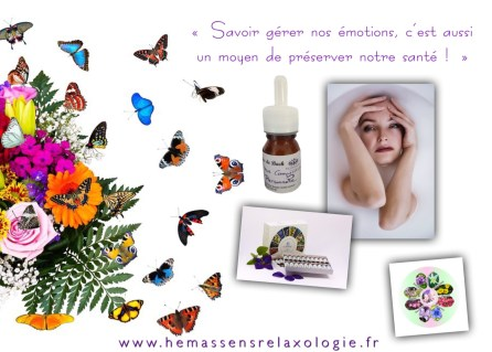 Fleurs de Bach Hémassens Relaxologie Je prends soin de moi...