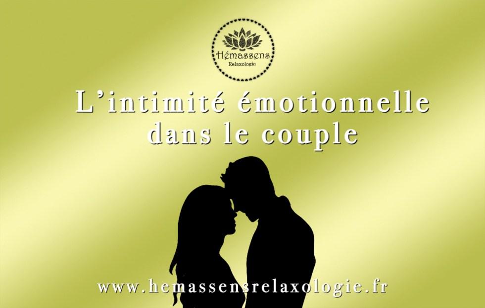 L'intimité émotionnelle dans le couple
