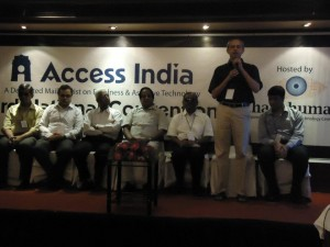 Deligates at the Inaguration of Access India Convention 2011