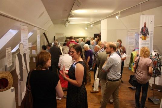 Impression von der Ausstellungseröffnung
