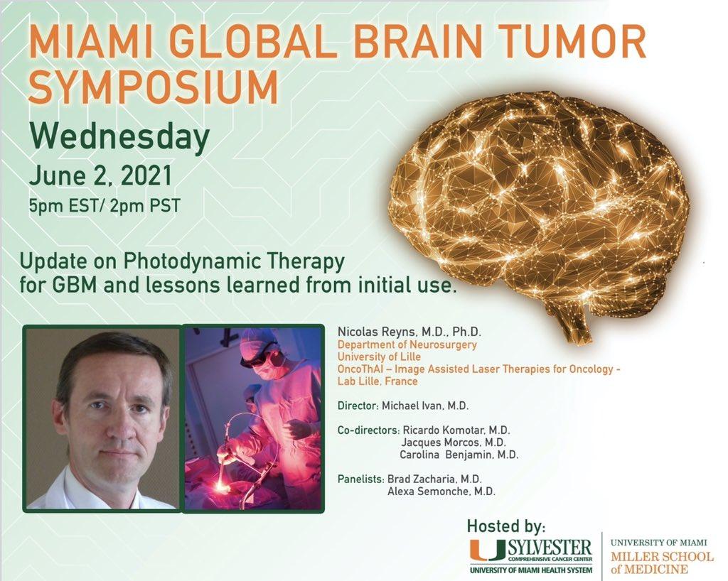 Hemerion at the Brain Tumor Symposium in Miami