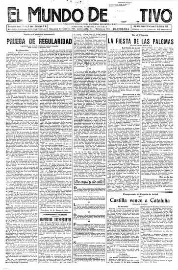 Edición del lunes 03 de abril de 1916 - Página 1