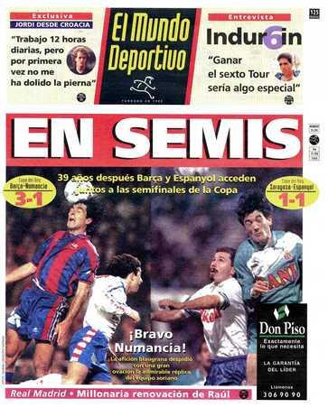 Edición del jueves 15 de febrero de 1996 - Página 1