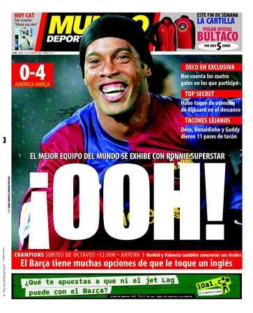 Edición del viernes 15 de diciembre de 2006 - Página 1