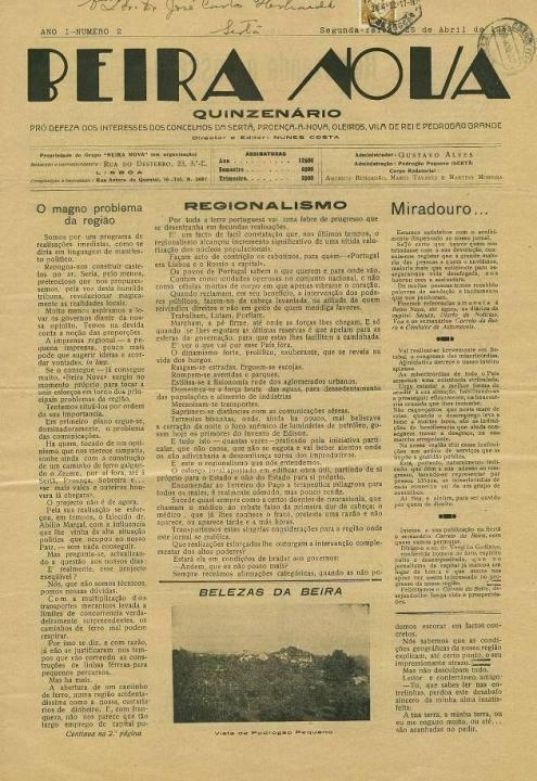 Beira Nova Nº2 25 04 1932 Peq