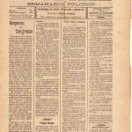 Eco Da Beira Nº15 22 11 1914 P