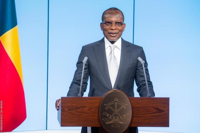 Le Président béninois, Patrice Talon lors de son message à la nation ce lundi 20 mai 2019 © Présidence du Bénin