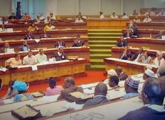 Les députés camerounais au sein de l'hémicycles lors de l'étude du contenu de l'accord © Agora-mag.net/ HA