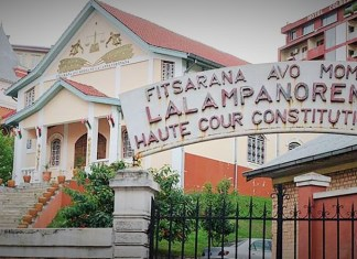 Siège de la Haute cour constitutionnelle malgache © La Tribune de Diego /HA