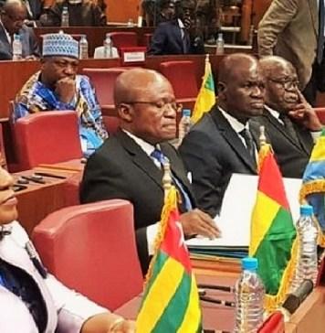 Des participants à la 45ème session de l'Assemblée parlementaire francophone (APF) Abidjan le 8 juillet 2019 © SudMedias.com/HA