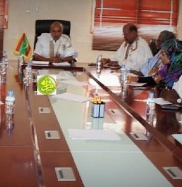 Les membres de la conférence des présidents lors du vote du nouveau règlement de l'intérieur de l'Assemblée nationale © Parlement Mauritanien / HA