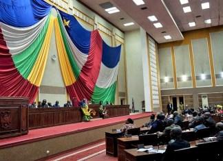 Assemblée nationale de la Centrafrique © Rfi / HA
