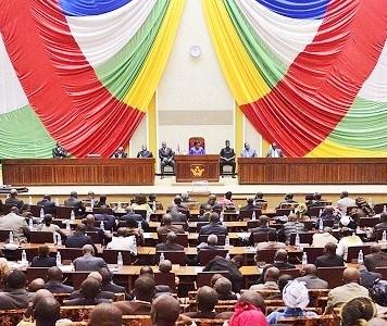Assemblée nationale de la Centrafrique © Corbeau News Centrafrique/ HA