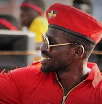Le député Robert Kyagulanyi alias Bobi Wine © Kenya Broadcasting Corporation / HA