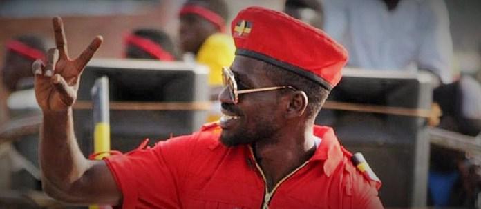 Le député Robert Kyagulanyi alias Bobi Wine © Kenya Broadcasting Corporation / HA