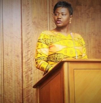 Emília Carlota Dias, 1ère vice-présidente de l'Assemblée nationale de l'Angola © Parlement angolais/ HA