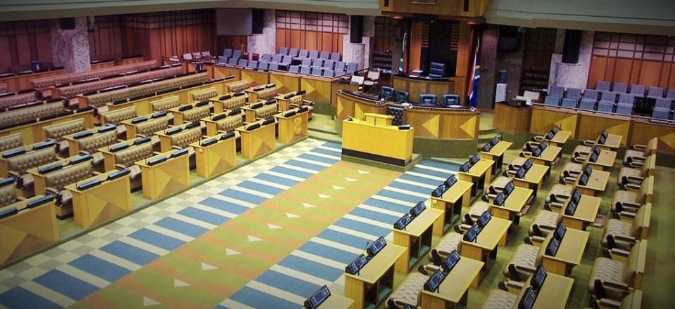Assemblée nationale de l'Afrique du Sud © Hémicycles d'Afrique