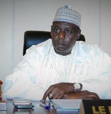 Ousseini Tinni, président de l'Assemblée nationale du Niger © BB / HA