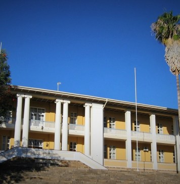 Le siège du parlement namibien © Wikipedia