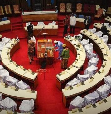 Le parlement sierra léonais quelques heures avant l'installation des députés en 2018 © africanews / HA