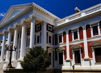 Le siège du parlement sud-africain © Biznews