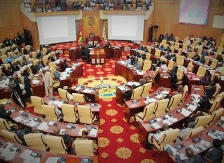 L'Assemblée nationale du Ghana © gbcghana.com