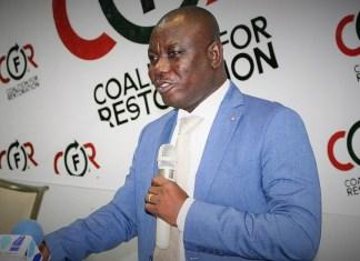 Le député Isaac Adongo, élu lors des primaires parlementaires ce samedi 24 août 2019 ©Ghananews