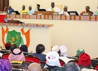 Les députés nigériens au sein de l'hémicycle © Anp.ne