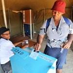 L'expression de vote d'une Botswanaise lors du dernier scrutin dans le pays © Al Jazeera