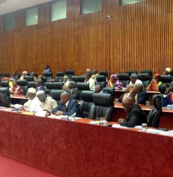 Les députés à l'Assemblée nationale lors de l'ouverture de session parlementaire de l'année © Rfi