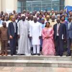 Photo de famille des parlementaires de la CEDEAO, quelques heures après l'ouverture de la session extraordinaire de Monrovia, Libéria ce 16 septembre 2019 © All Africa