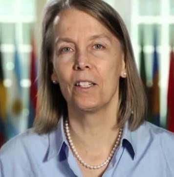 Lucy Tamlyn, ambassadrice des Etats-Unis à Bangui, Centrafrique © Matin Libre