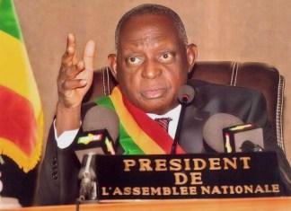Issiaka Sidibé, président de l'Assemblée nationale du Mali © Parlement malien