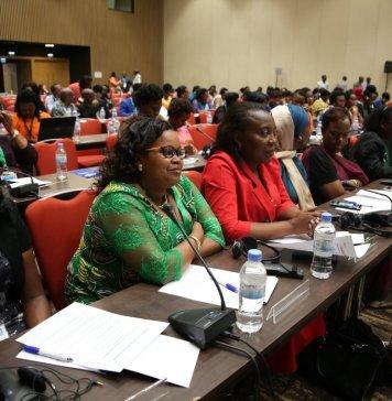 Les femmes sont majoritairement représentées dans toutes les instances décisionnelles du pays. © Parlement rwandais