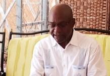 Le député Saleh Kebzabo, président de l'Union Nationale pour la Démocratie et le Renouveau (UNDR) © Abel T. / HA