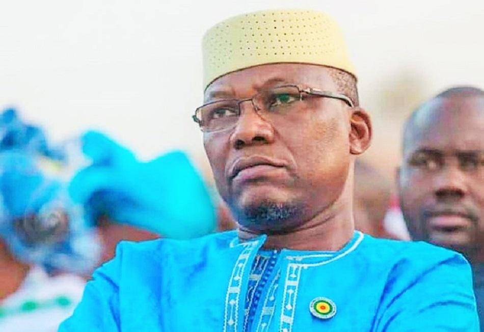 Moussa Timbiné, président de l'Assemblé nationale du Mali © Celcom Moussa Timbiné