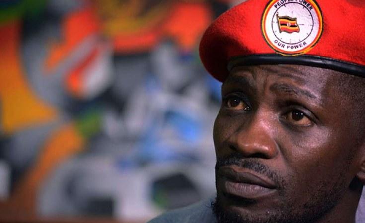 Bobi Wine, de son vrai nom, Robert Kyagulanyi, candidat à la présidentielle de 2021 sur la liste du parti National Unity plateform (NUP)