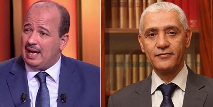 Rachid Talbi Alami et Naam Miyara,respectivement élu président de la chambre des représentants et à celle des conseillers © maroc-diplomatique.net