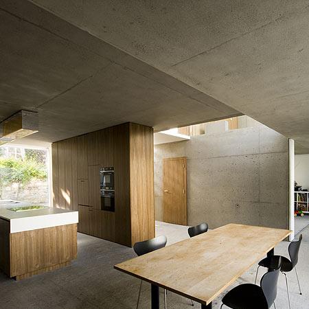 Modern heminredning, arkitektritat hem