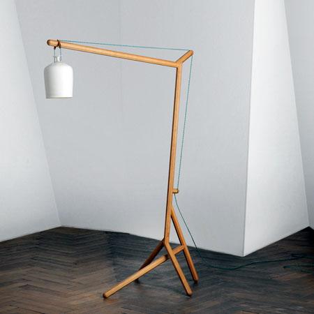 Vacker golvlampa som lyfter din heminredning