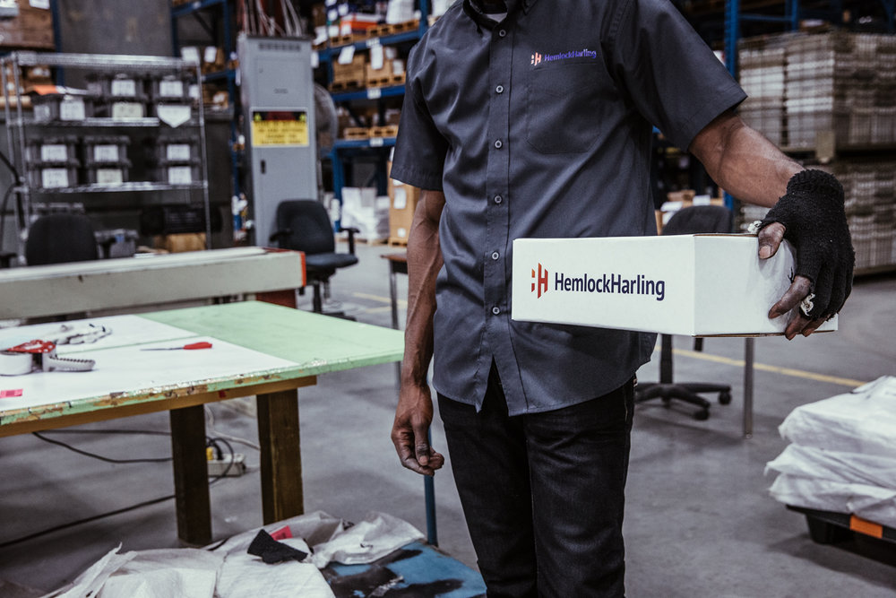 Inside Hemlock Harling's state of the art facility