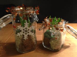 Hyacint i glasburk