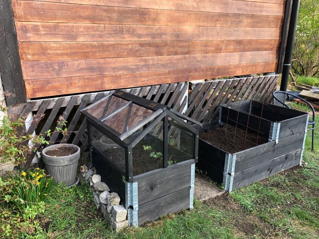 pallkrage växthus