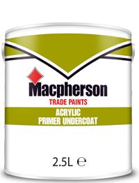 Macpherson Acrylic Primer Undercoat 2.5L White